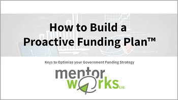 Mentor Works Proactive Funding Plan™ Slide Deck